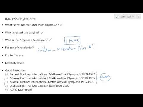 IMO PS Playlist Intro - YouTube