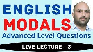 MODALS-3 IMPORTANT QUESTIONS || English for Competitions || Ankul Sir English Classes ||