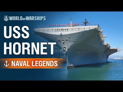 [World Of Warships] Naval Legends: Aircraft Carrier Hornet