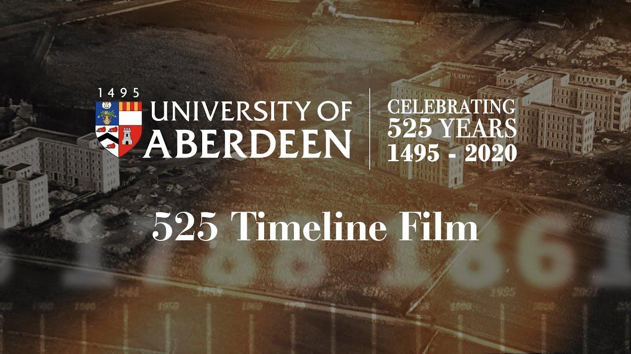 Historical Milestones About The University Of Aberdeen