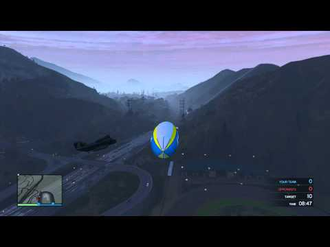 GTA 5 Online How To Get The Atomic Blimp...