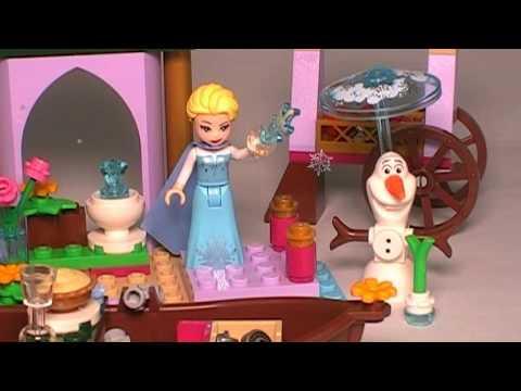 41155 LEGO  Disney- Elsa's Market Adventure -Build & Compare