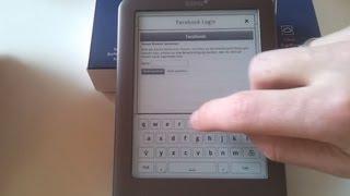 tolino shine: Facebook-Anmeldung und Tippen mit dem eReader