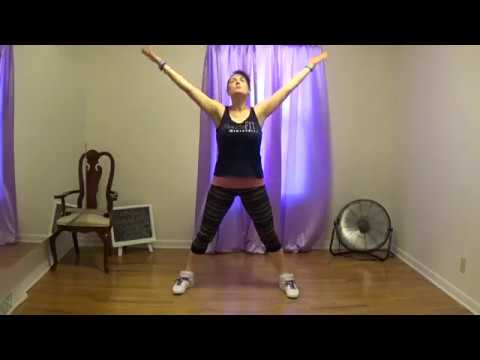 PraiseFIT - 15 Minute EASY WORKOUT - Christian DANCE FITNESS - Low Intensity - Low Impact - Exercise