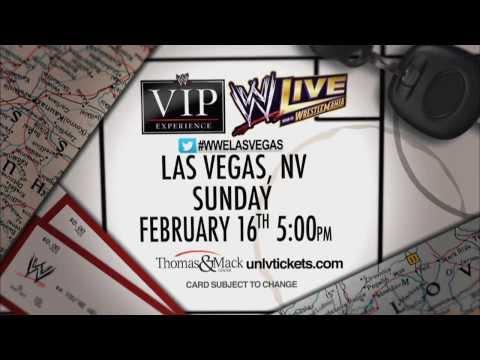 WWE LIVE: Road to Wrestlemania @ Thomas & Mack Center - February 16, 2014