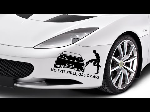 Best Funny Car Stickers