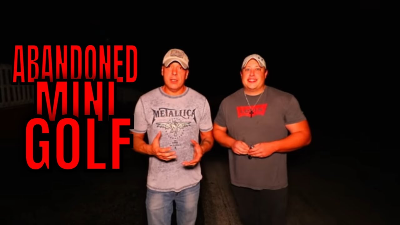 (ABANDONED HAUNTED MINI GOLF COURSE) RETURNING AFTER ALMOST TWO YEARS WITH PERMISSION