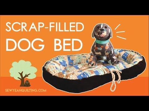 Scrap-Filled Dog Bed Tutorial