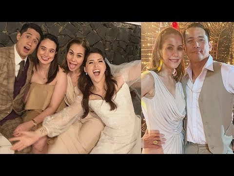 LOOK! CELEBRITIES ATTEND the WEDDING of Kylie Padilla & Aljur Abrenica!