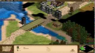 Age of Empires 2 HD Edition - Attila The Hun - The Fall of Rome Walkthrough