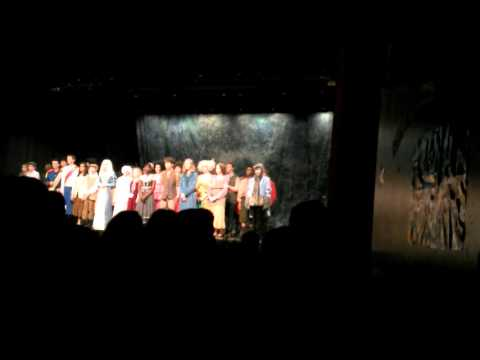 Dominion middle school into the woods characters in play