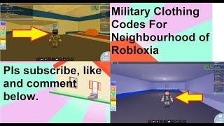 💥Codes militaires💥 Pour le quartier de Robloxia (Roblox)