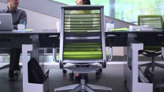 Think Ergonomic Chair Reimagined. Design Story - Steelcase
