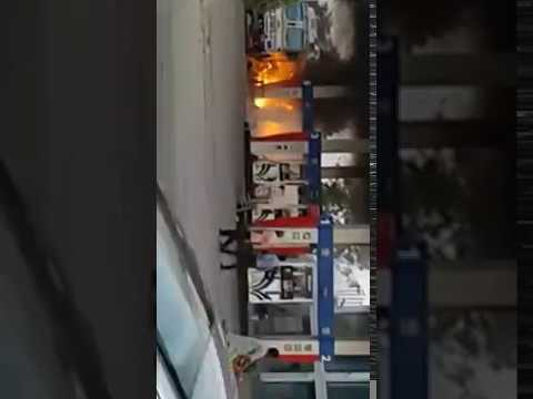 Fire At Taj Petrol Pump | Amritsar | Driver Save Many Life | Latest