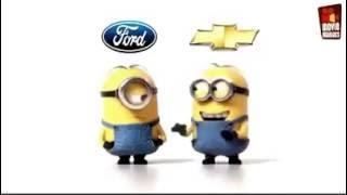 FORD VS CHEVROLET Minions