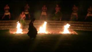 Fire Walkers in Hawaii