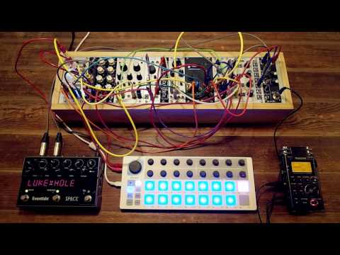 Small System 2 - a patch for a small system eurorack synthesizer