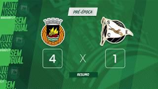 Rio Ave FC x SC Espinho: Golos rioavistas