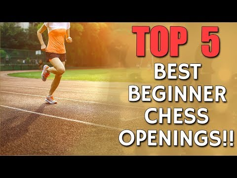 5 best Beginner Chess Openings 🏃 with IM Valeri Lilov