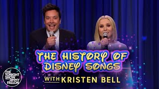 Download lagu History of Disney Songs with Kristen Bell