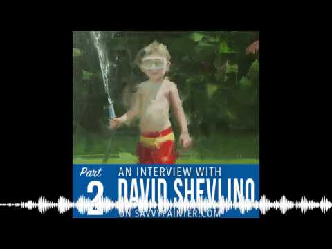 Choosing a Subject, Maintaining Your Integrity, and Diversifying Your Art Portfolio: David Shev