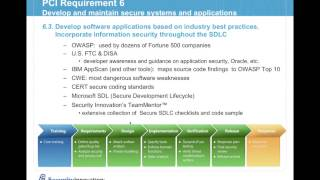Webcast: Addressing Application Security Requirements of PCI DSS