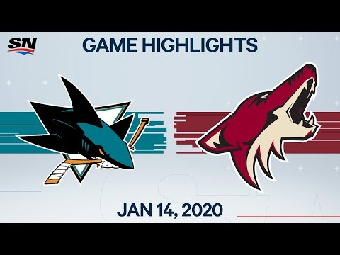 NHL Highlights | Sharks vs. Coyotes – Jan 14, 2020