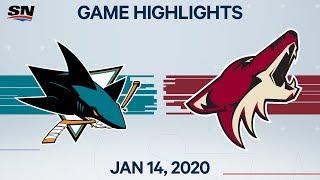 NHL Highlights   Sharks vs. Coyotes – Jan 14, 2020