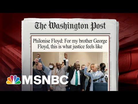 Brother Of George Floyd Writes New Column On Chauvin Verdict | Morning Joe | MSNBC