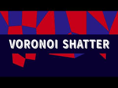 Voronoi Shatter 3 For After Effects
