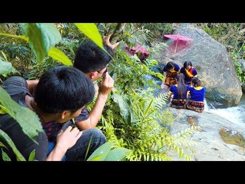 Thanh Niên Xóm Lên Bản Tán Gái Dân Tộc HMông / Hmong movie
