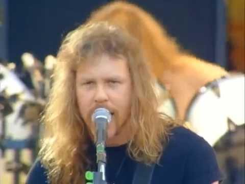 Metallica - Enter Sandman (Live Freddie Mercury Tribute Concert 1992) HD