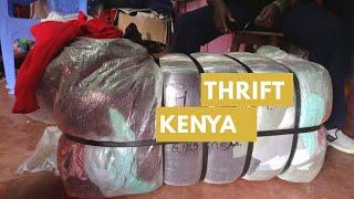 Gikomba Bale Thrifting, Nairobi Kenya