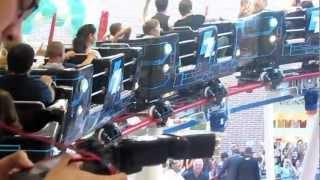 Adela Popescu si LaLa Band in Roller Coaster AFI Palace