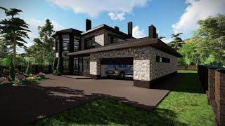 видео Проекты домов из кирпича, проекты и фото красивых кирпичных домов