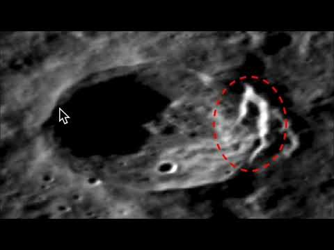 7km Tall Archway On Planet Mercury, Mind-blowing Size! Photos, UFO Sighting News.