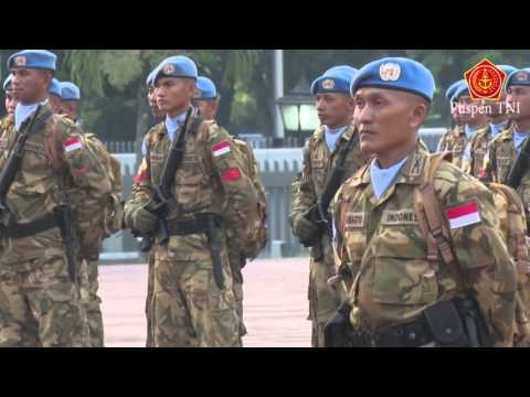 Panglima TNI menerima 800 Prajurit TNI Kontingen Garuda XXXV-A/Unamid