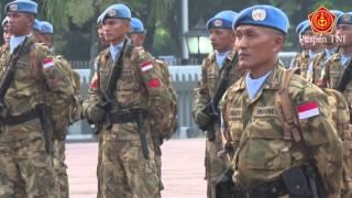Panglima TNI menerima 800 Prajurit TNI Kontingen Garuda XXXV-A…