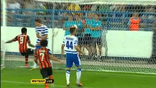 Севастополь - Шахтер 1-3 голы