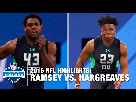 Jalen Ramsey vs. Vernon Hargreaves | 2016 Combine Face Off