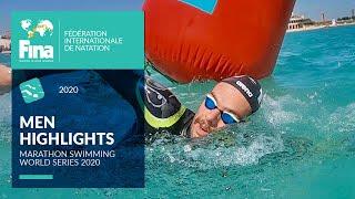 Men's Race Highlights Open Water | FINA/CNSG Marathon Swim World Series
