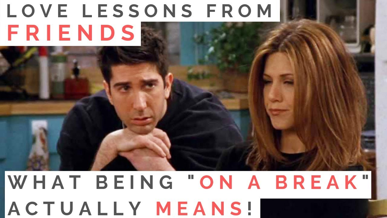 Jennifer Aniston on Ross and Rachel's Relationship Today: 'Well We're on a Break'