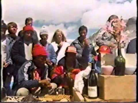 1986 Everest Hang-glider Expedition..