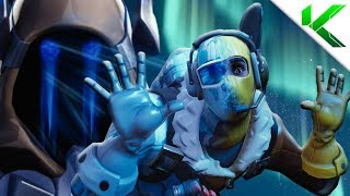 RAPTOR MEETS THE ICE KING! | SEASON 7 - Fortnite Short Film