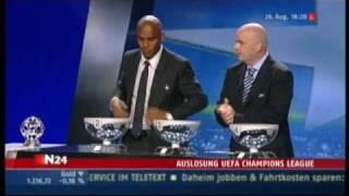 2. Auslosung - UEFA Champions League 10/11 in Monaco