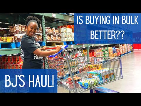 BJ'S Haul | Bulk Grocery Shopping With Coupons | Krys The Maximizer