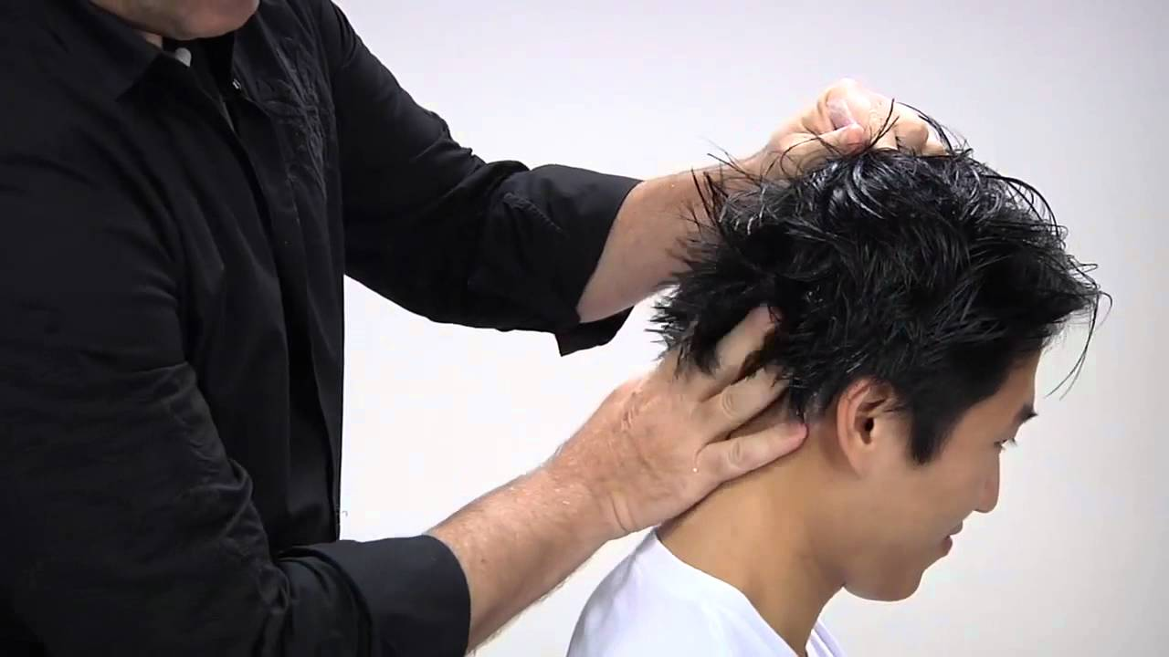 Aveda How To Get Modern Texture For Men S Mid Length Hair Youtube