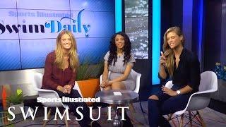 Nina Agdal, Kate Bock & Ariel Meredith Talk Love, Modelling & More | Sports Illustrated Swimsuit