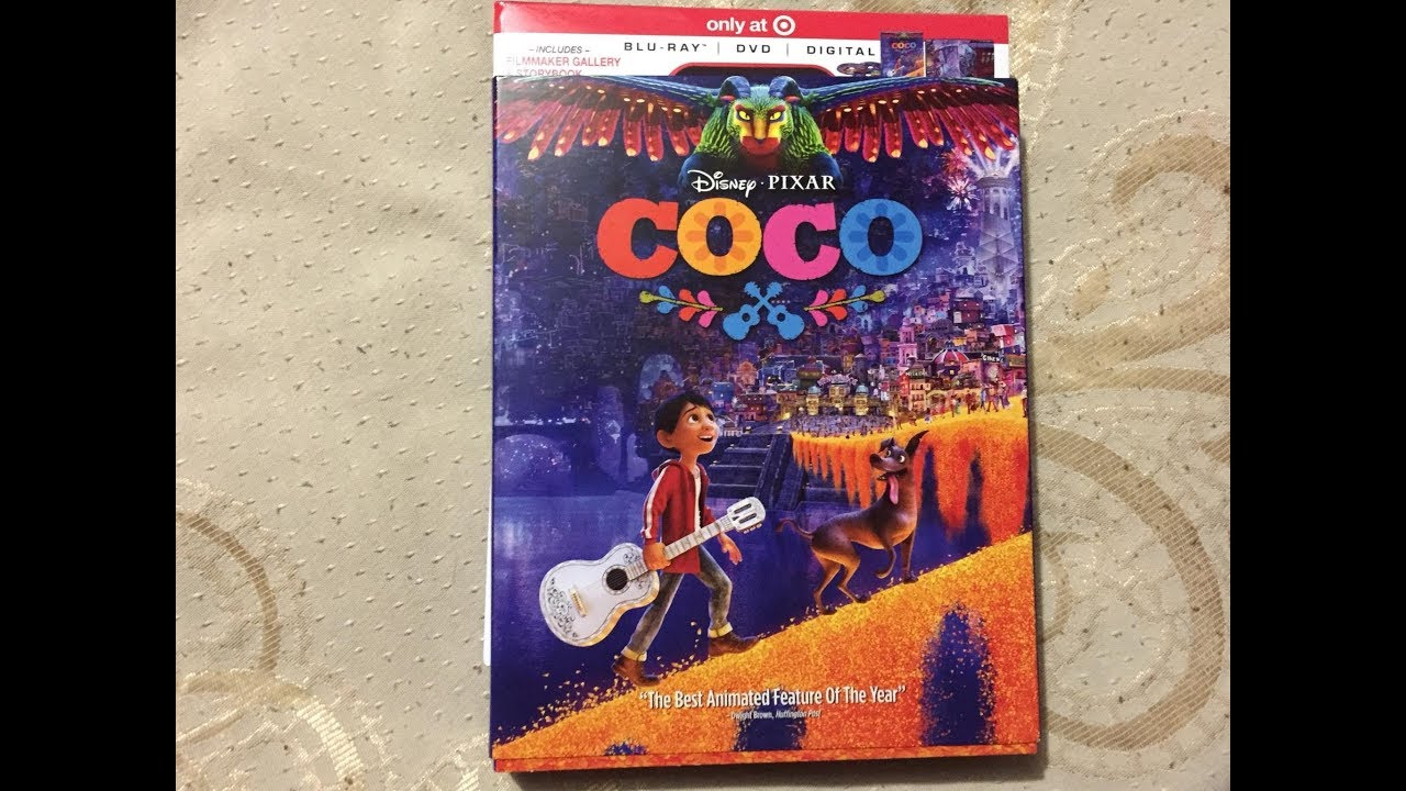 Toy Guitar Target Target Exclusive Coco Blu Ray Dvd Digital Collector Set Unboxing