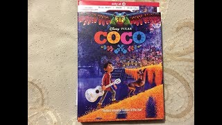 Target Exclusive Coco Blu Ray + DVD + Digital Collector Set Unboxing